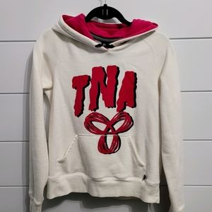 TNA dual logo Pullover Hoodie